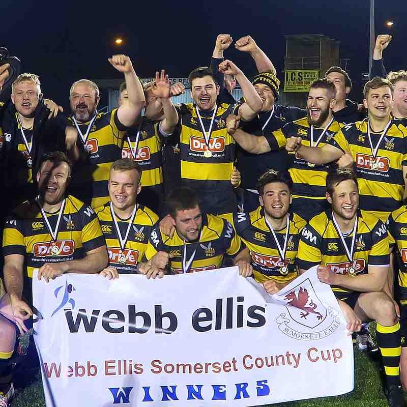Hornets Somerset Cup Winners
