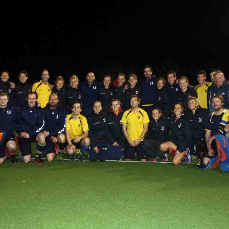 HHC Men vs GB Women (Drew 2-2)