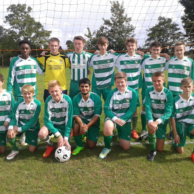 U18 Juniors beat Chalfont Saints Colts 7 - 0