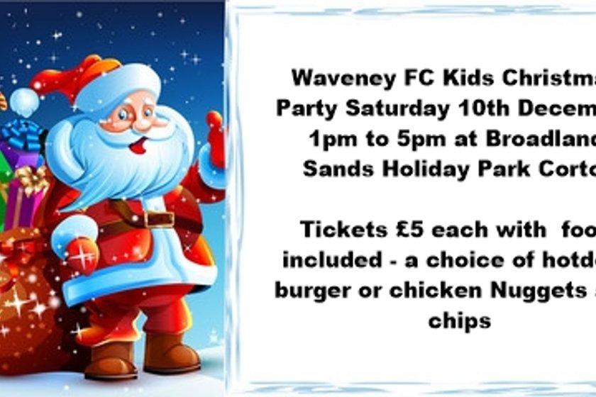 Waveney FC Kids Christmas Party