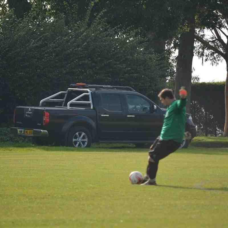 First Team v UEA FC - 3rd October 2015