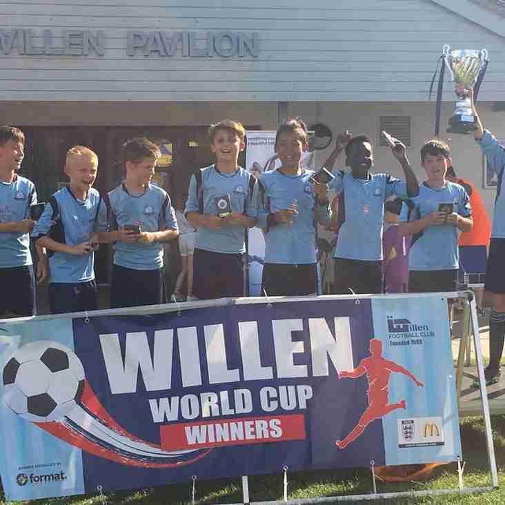 Willen World Cup Winners!