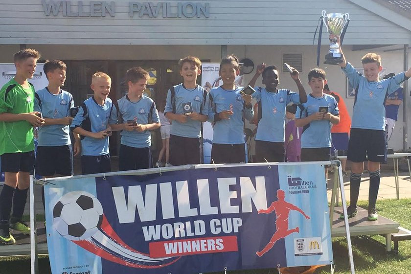 Willen World Cup Winners!