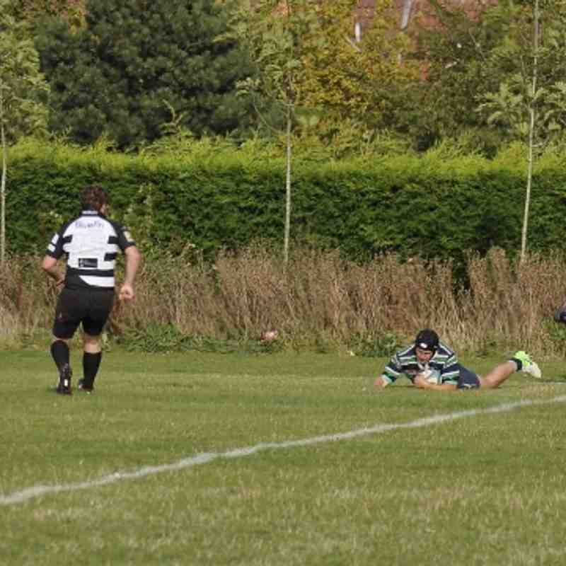 Abbey 1st XV (31) vs  Milton Keynes  (23)   15.09.2012