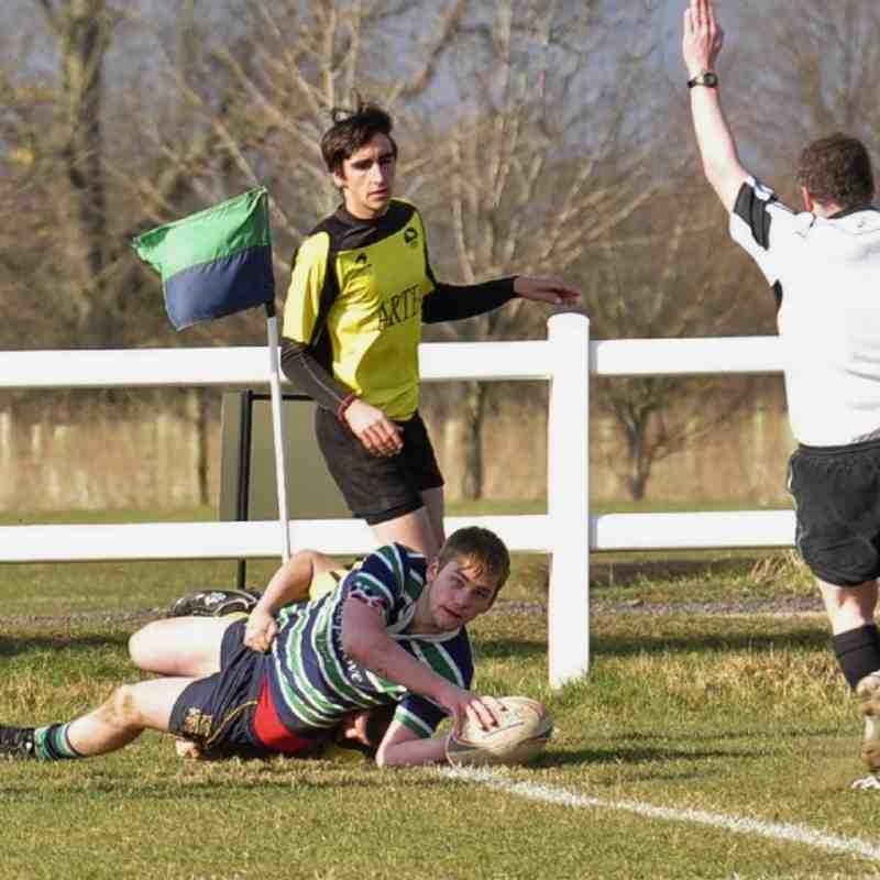 Abbey U20s vs Spain     March 30, 2013