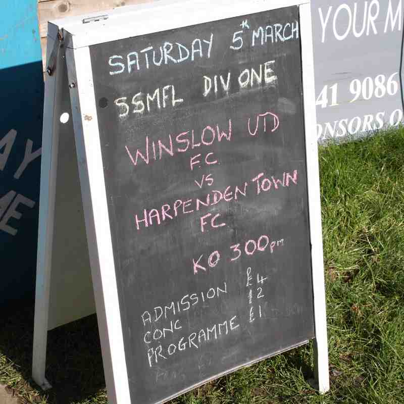 Winslow v Harpenden Town 05.03.2016