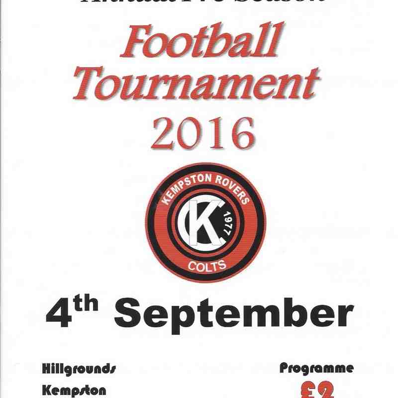 U16 Kempston Tournament 04.09.2016