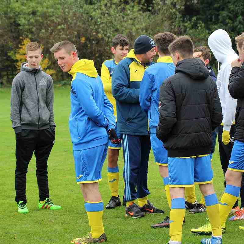 U16 Away v Great Linford 20.11.2016