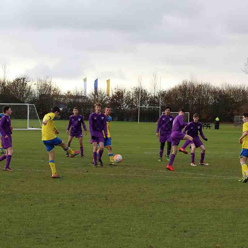 U16 Away v Shenley Jaguars 27.11.2016