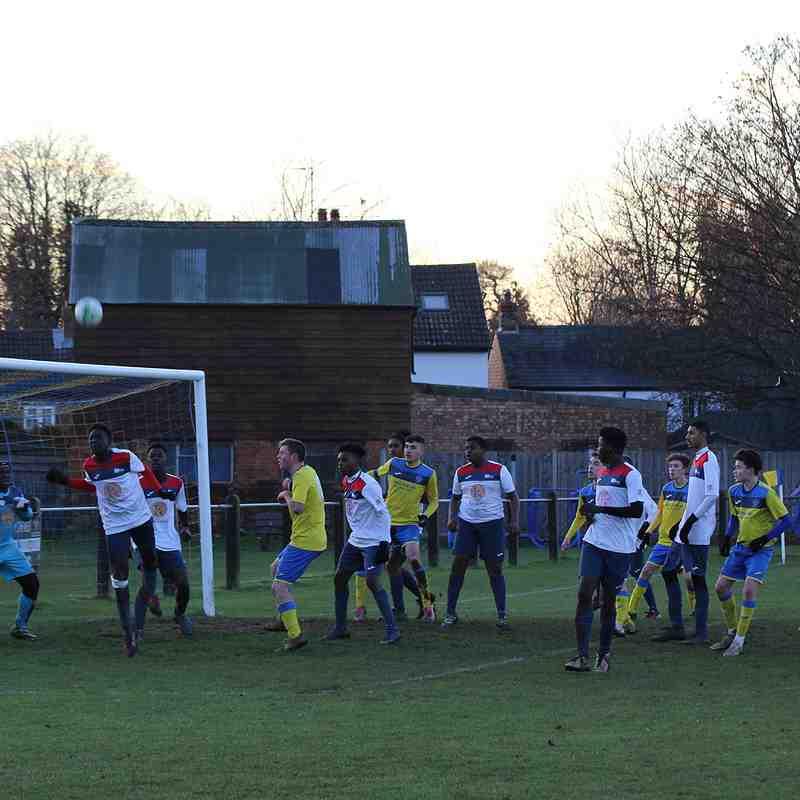 U16 Home v Willen United 04.12.2016