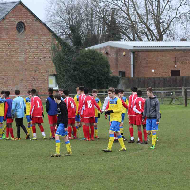 U16 Home v Tattenhoe Whites 29.01.2017
