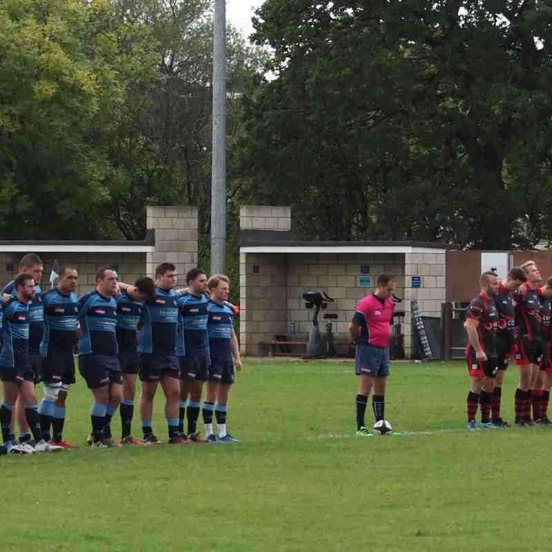 Terry Ward remembrance, respect from 1st & 3rd team games