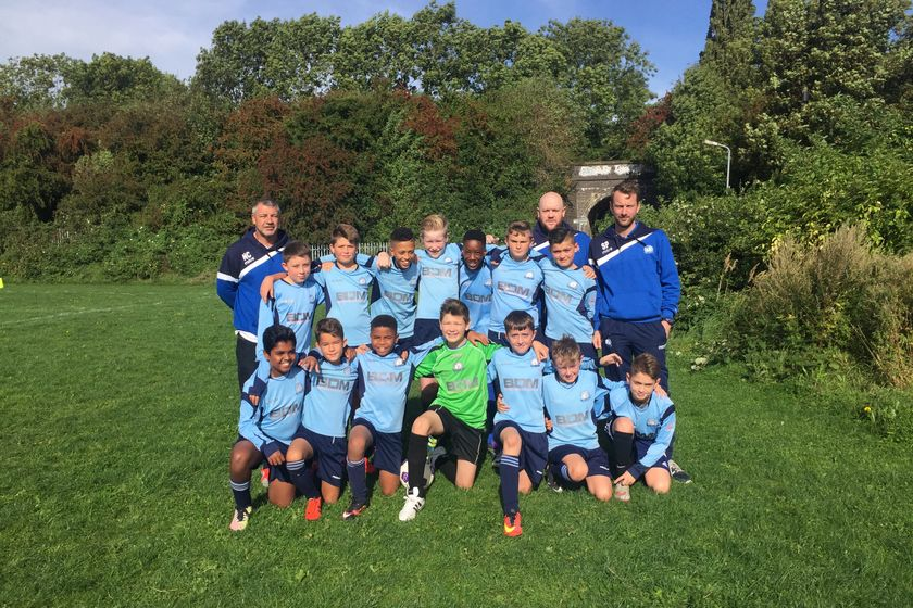 U12 Blues beat Haddenham FC 3 - 0