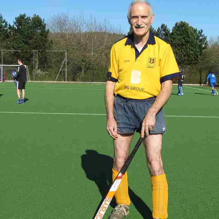 Chalky completes half century
