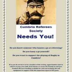 Cumbria Referee Society Needs You!