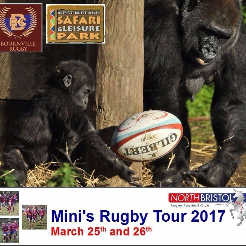 North Bristol Minis Tour 2017 - BOOK NOW!
