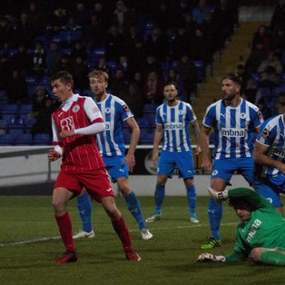 Chester give Robins the Blues