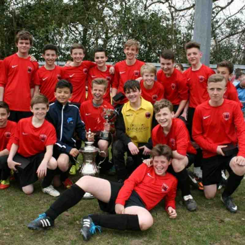 Foresters U14's League Cup Winners 30 March 14