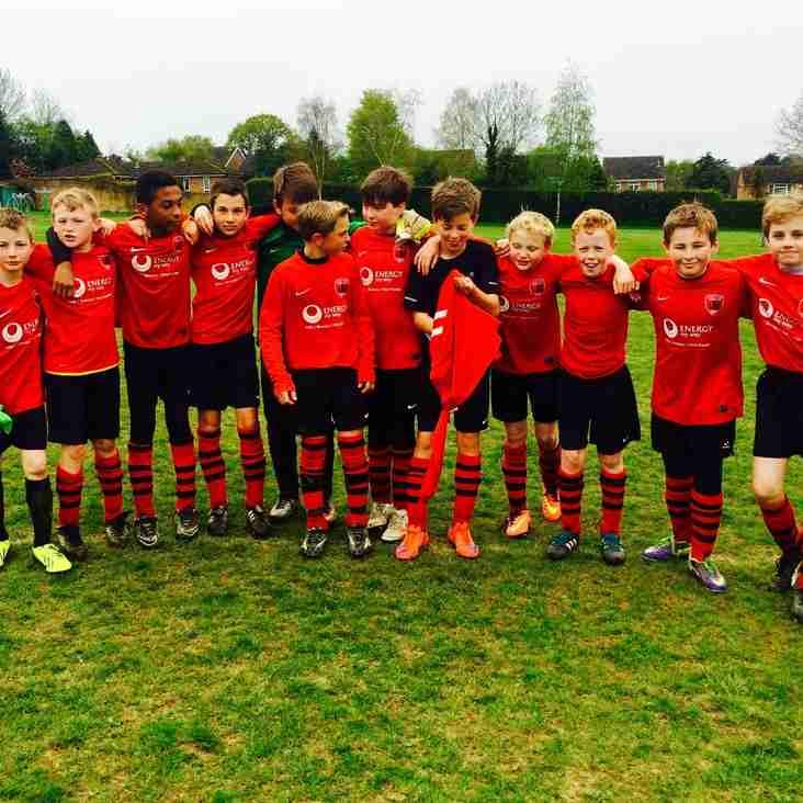 U12's Youth -  C&DJFL Challenge Cup winners
