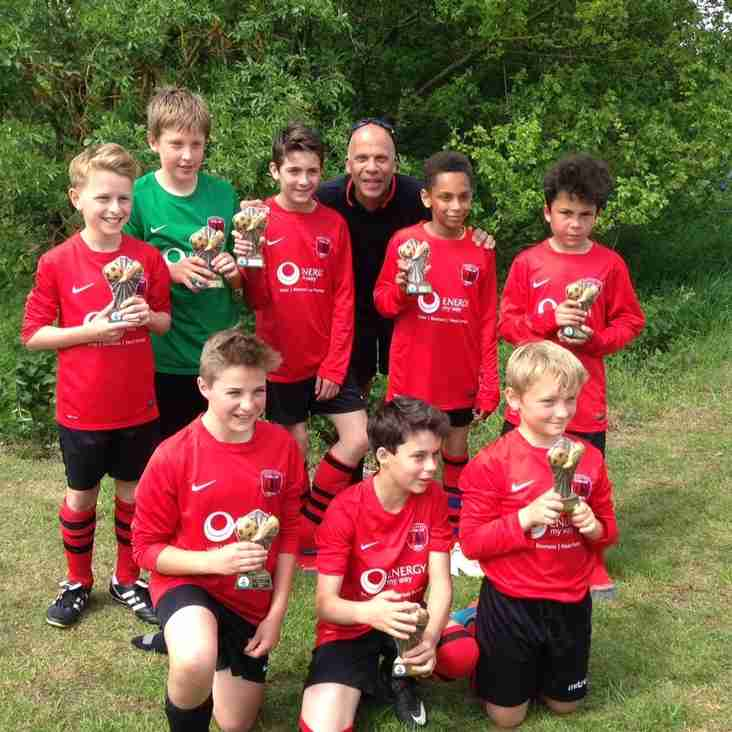 U12's Colts runners up  Pembury Tournament