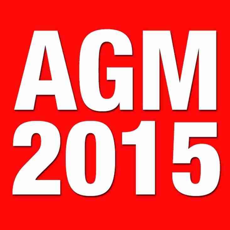 AGM 2015.    25 June 2015