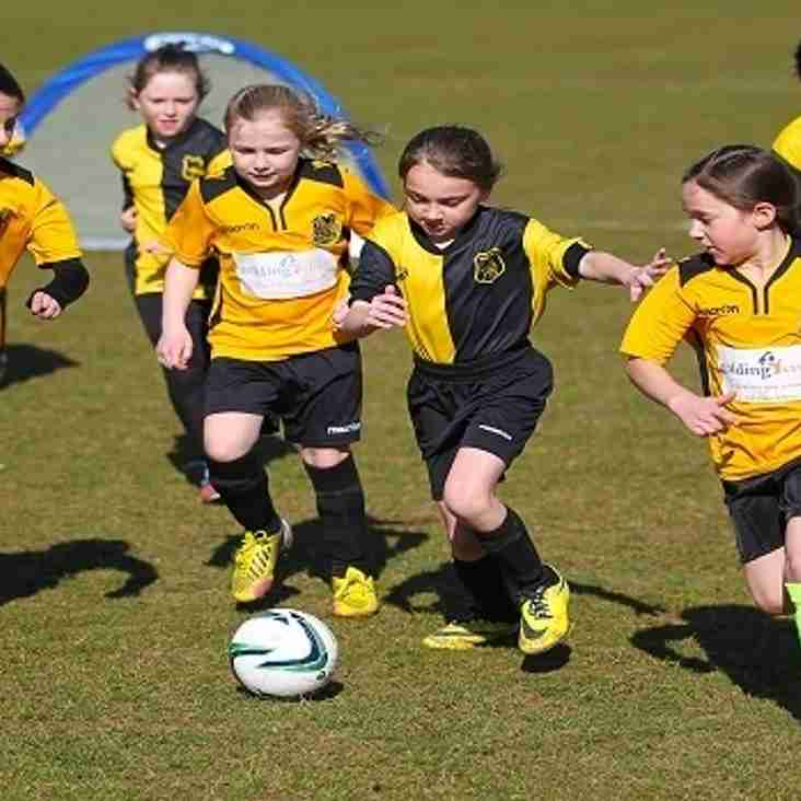 Kent FA is delighted to offer a girl only, free football session this October half term