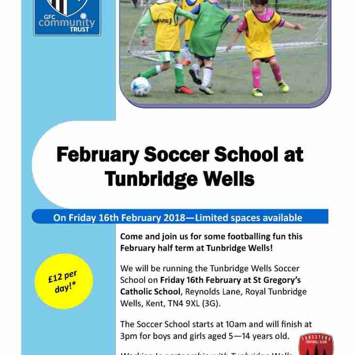 Gillingham FC Soccer School  - 16 Febuary 2018