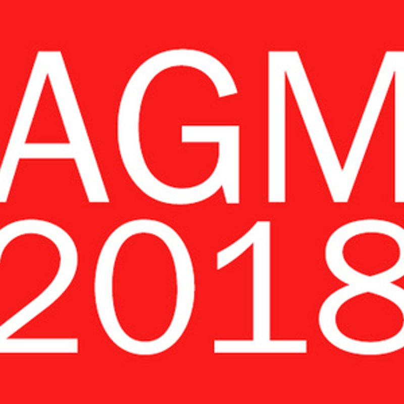 The club's AGM will now be held on the 16 July 2018 starting at 20:00 hrs