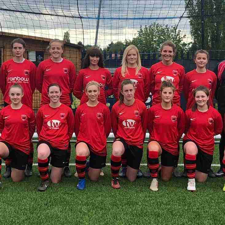 Woman's Senior Team make club history