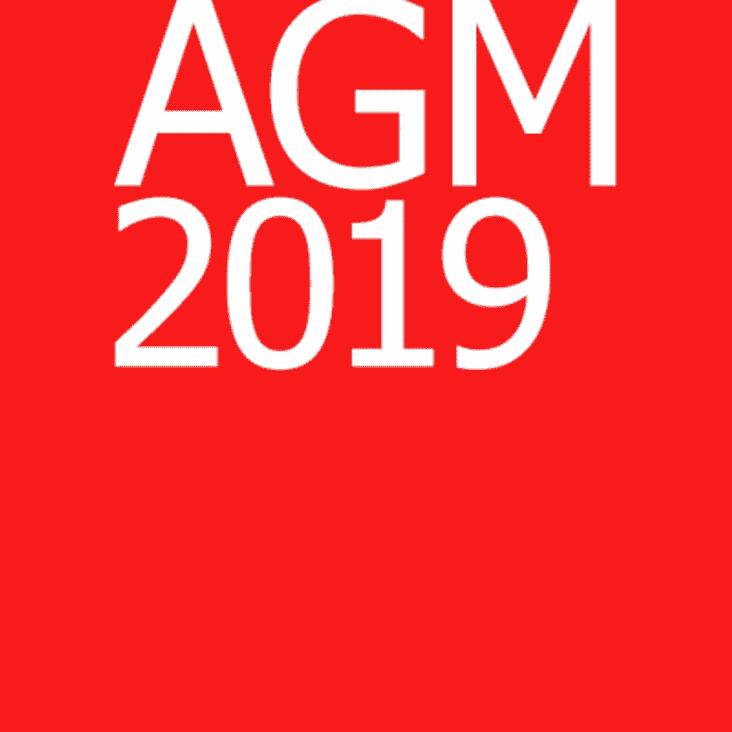AGM 2019  - 24 June 2019