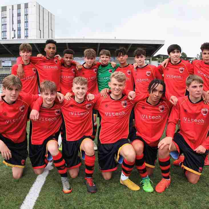 Tunbridge Wells Foresters U16's Charity match