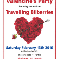 Valentines Party - Saturday 13th February