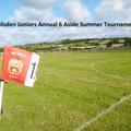 SILSDEN AFC JUNIORS 20th ANNIVERSARY 6 ASIDE TOURNAMENT 10th & 11th JUNE 2017