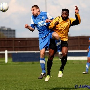 Feltham bow out with draw