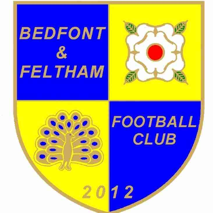 Bedfont & Feltham FC open Trials day.
