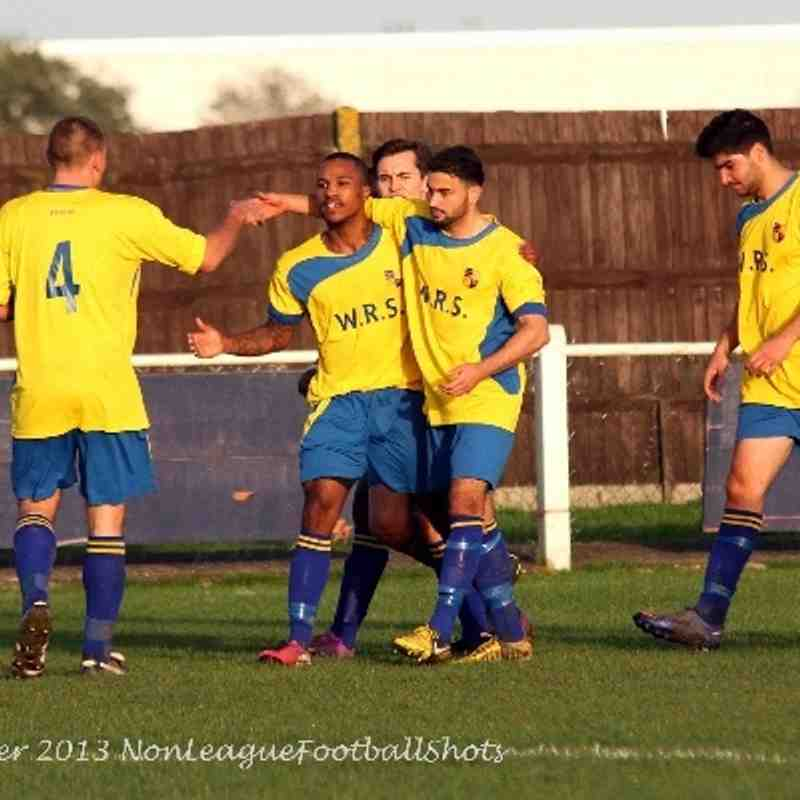 Bedfont & Feltham 1-0 Eversley & California