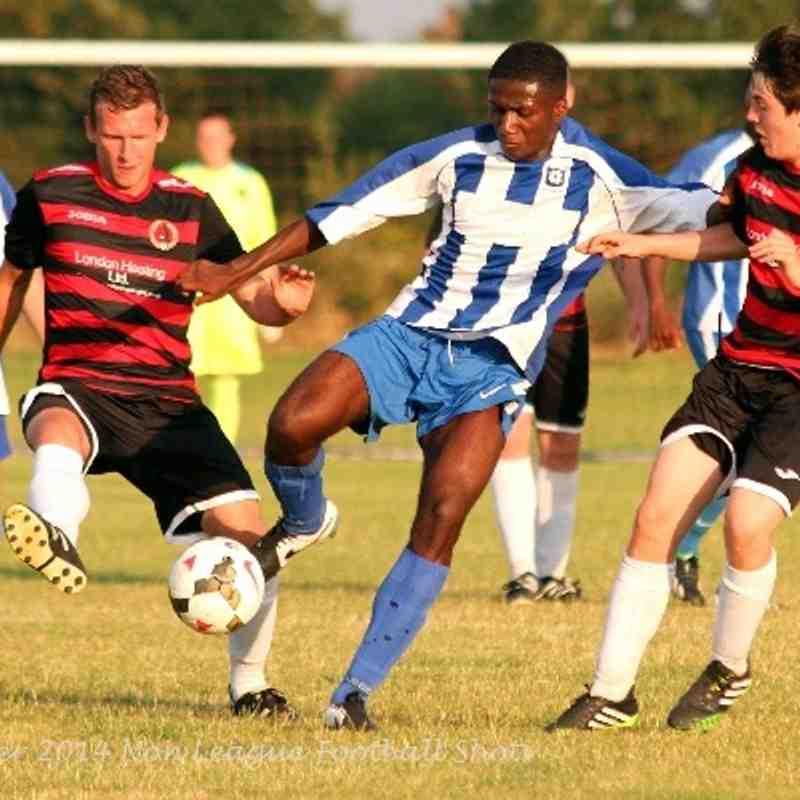 Bedfont Sports 3-0 Bedfont & Feltham 220714 Jsg