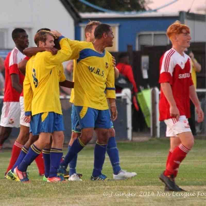 Bedfont & Feltham 2-3 Swindon Town XI