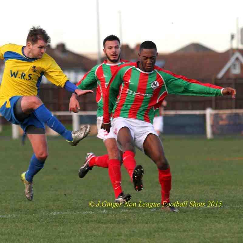 Bedfont & Feltham 1-0 Dorking FC 170115 Jsg