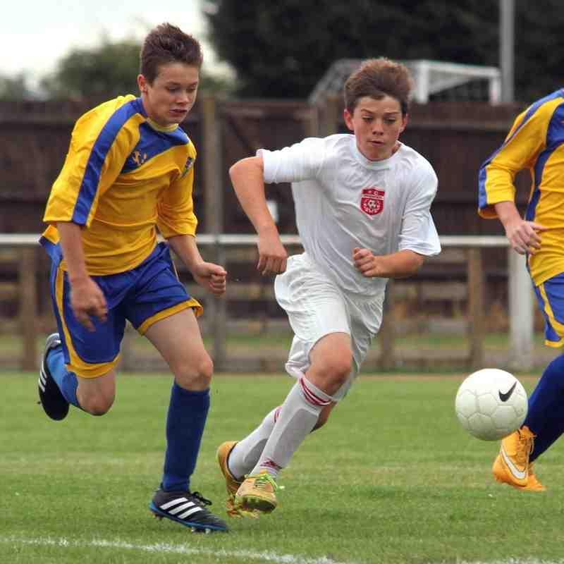 Bedfont & Feltham U13s v FC Premier