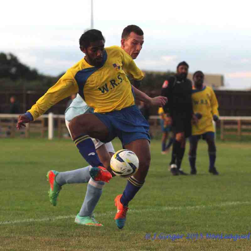 Bedfont & Feltham 1-1 Hampton & Richmond XI 290715
