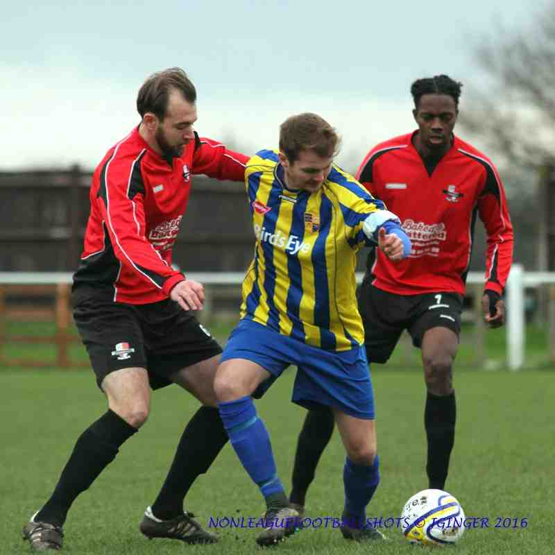 Bedfont & Feltham 3-1 Cobham FC