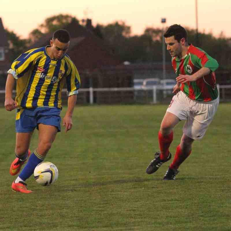 Bedfont & Feltham 5-2 Dorking FC 190416