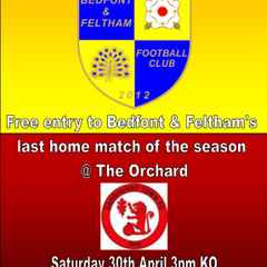 Free entry to Yellows last home match of the season..