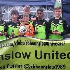 Under 13's win Tournament