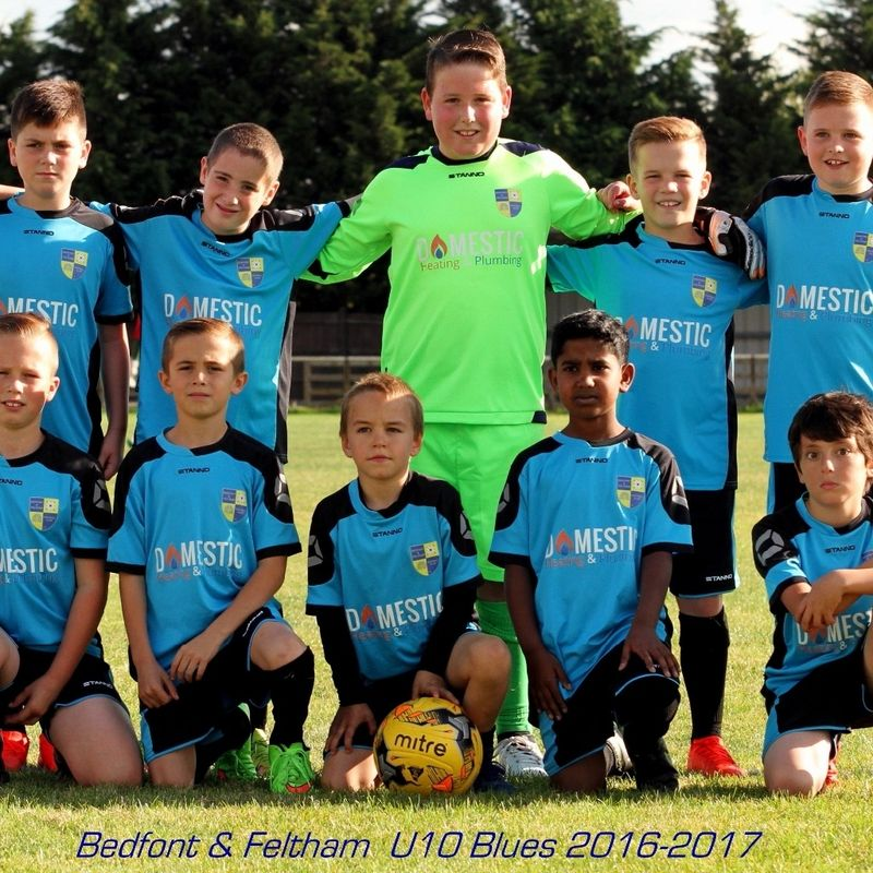 U10s Blues in Action