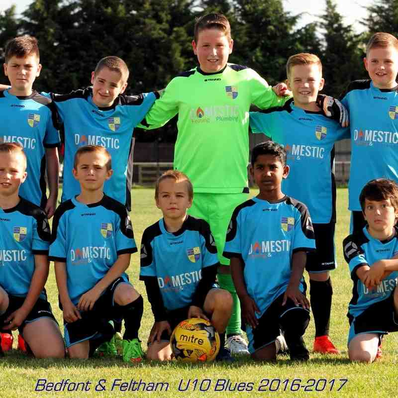 Bedfont & Feltham U10s Blues Penalties