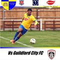Bedfont & Feltham 1st Team lose to Guildford City 2 - 0