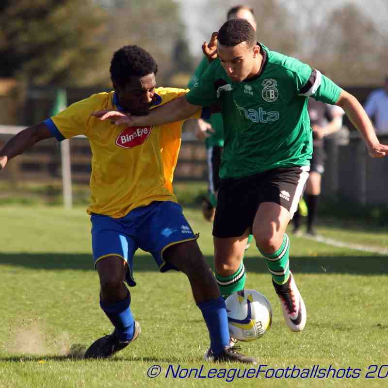 CB Hounslow Utd V Bedfont & Feltham FC 080417 ©JSG