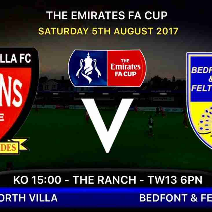 FA Cup start for The Yellows